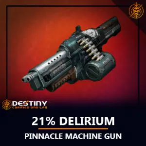 21% Delirium Heavy Machine Gun