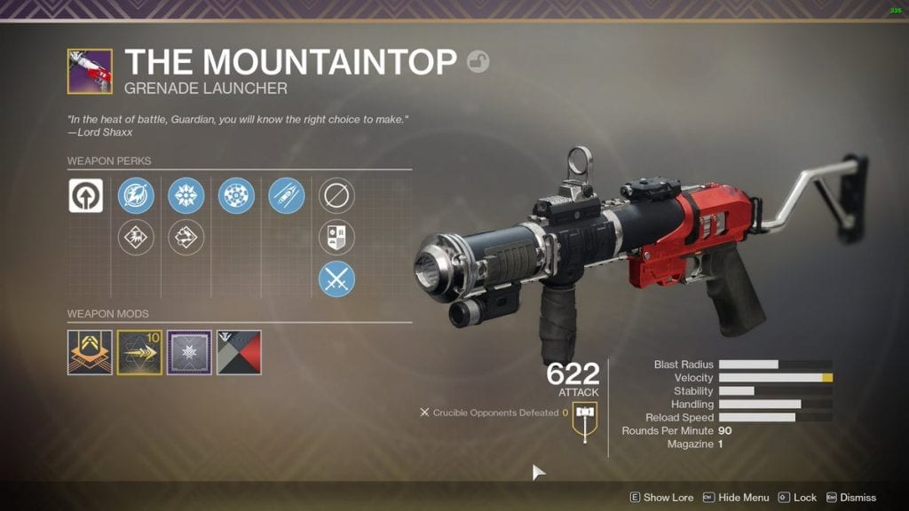 Destiny 2 Pinnacle Weapon The Mountaintop Grenade Launcher 1024x5761 updraft pre smush original