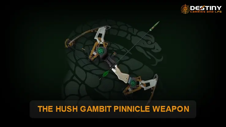 The Hush Gambit Pinnacle Bow