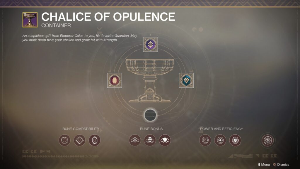 Chalice of Opulence