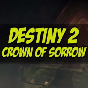 Crown Of Sorrow Raid