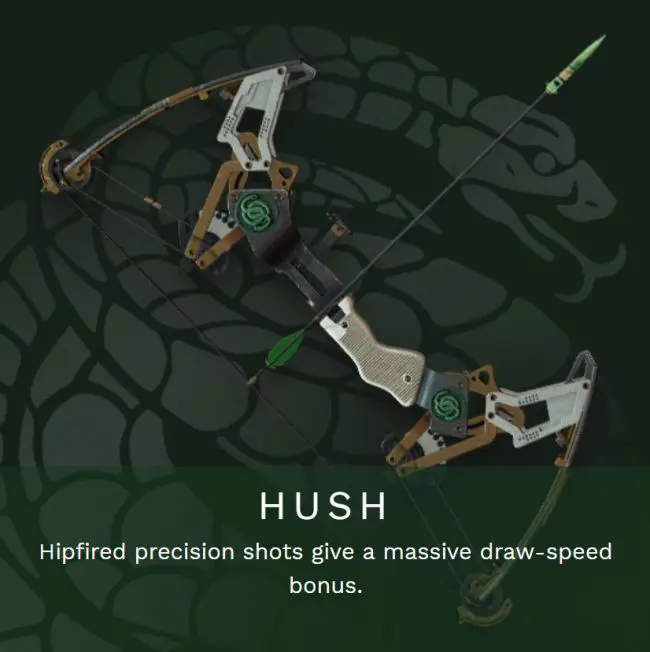 Gambit Pinnacle Weapon The Hush