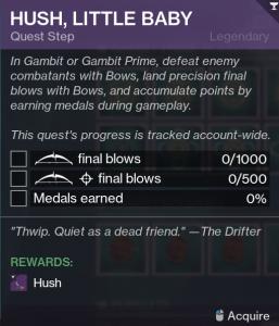 Hush Quest