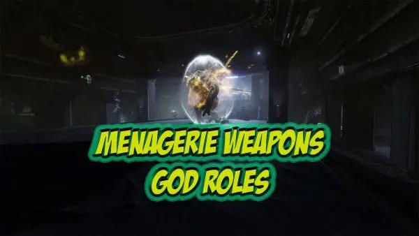 Menagerie God Roles