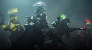 Season 7 Pinnacle Weapons in Destiny 2. Revoker, Wendigo GL3, and Hush.