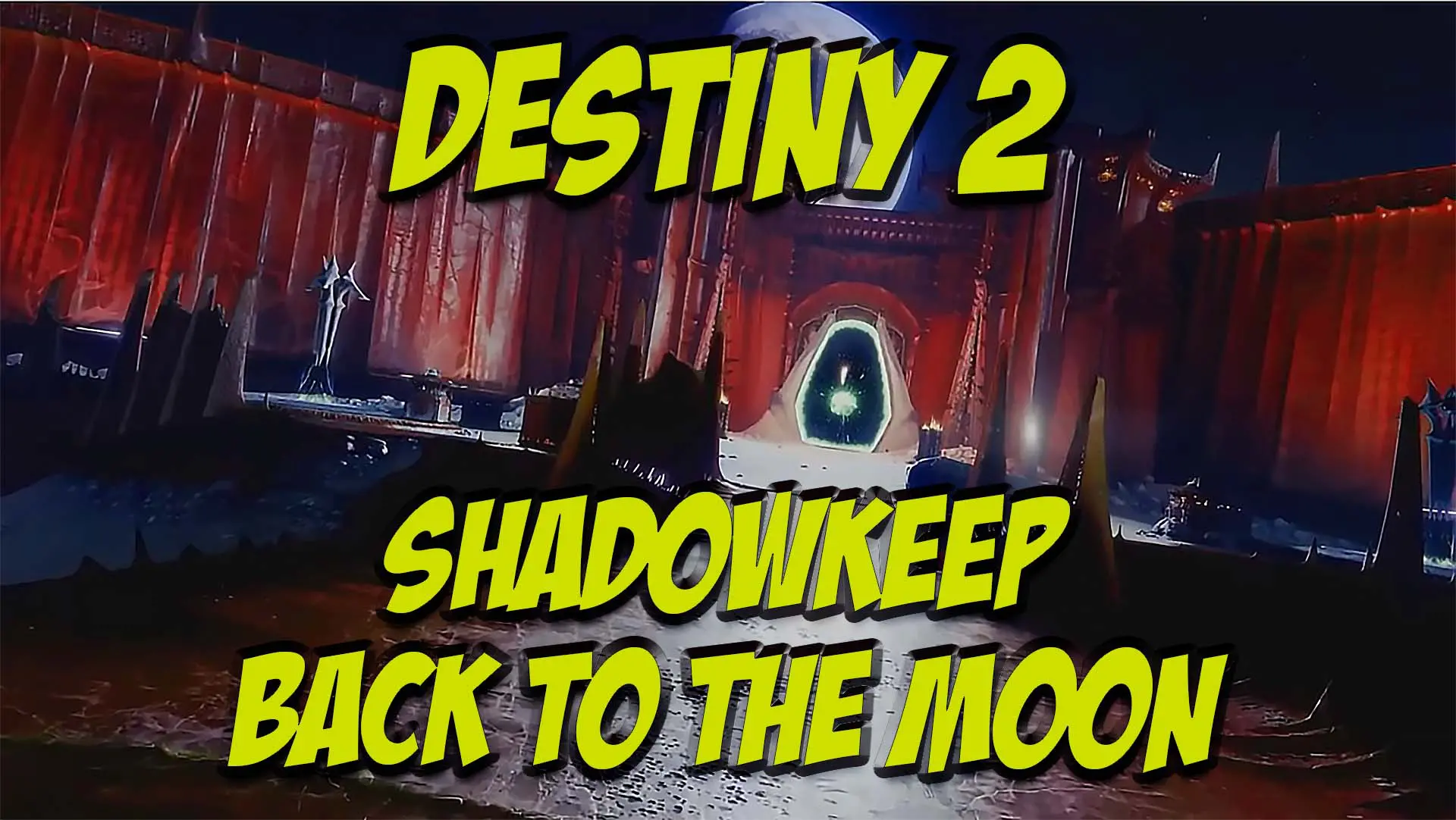 Destiny 2's Shadowkeep Darkness
