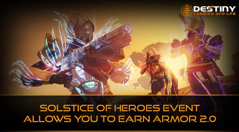 Solstice of Heroes Event Allows you to Earn Armor 2.0