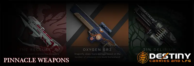 Pinnacle Weapons Category Image