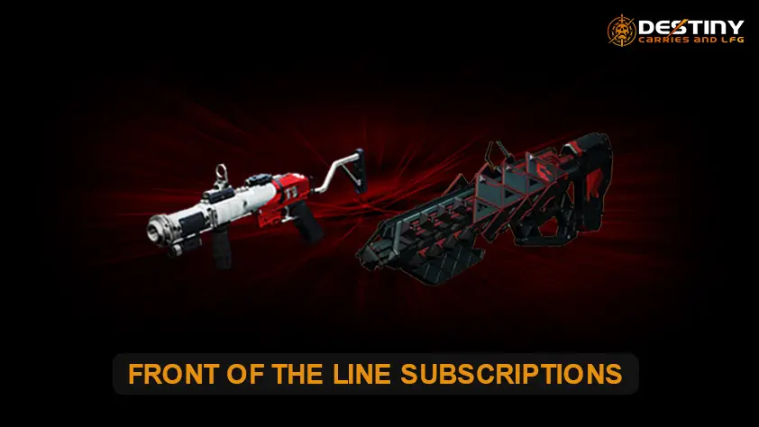 Front Of The Line Subscriptions