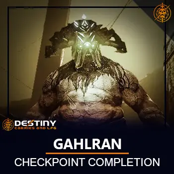 Gahlran Checkpoint Completion