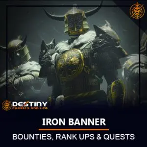 Iron banner Season of Dawn Product Card