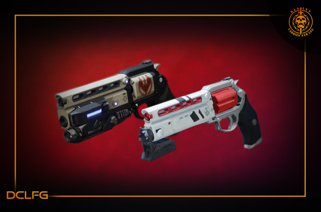 Power Pinnacle Hand Cannon's Luna's Howl and Not Forgotten