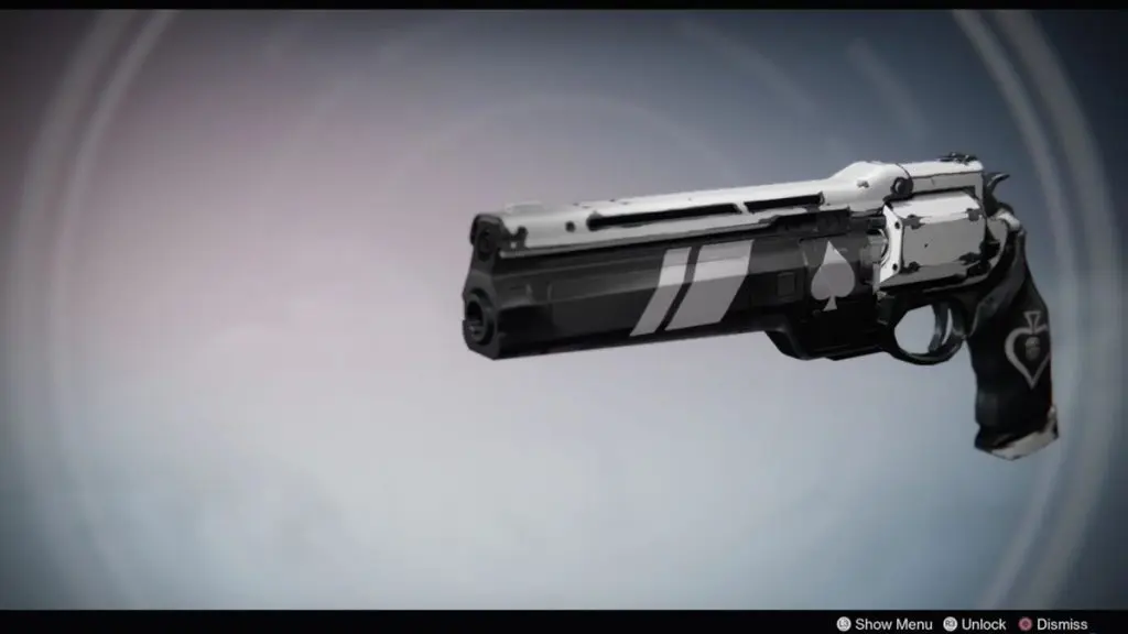 Destiny 2 Ace of Spades Hand Cannon