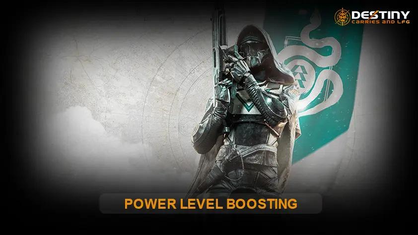 Power Level Boosting Internal Image