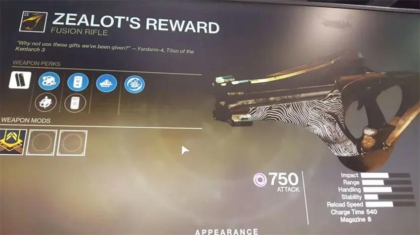 Zealtos Reward