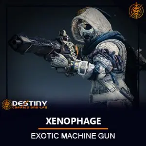 Xenophage Exotic Machine Gun Image