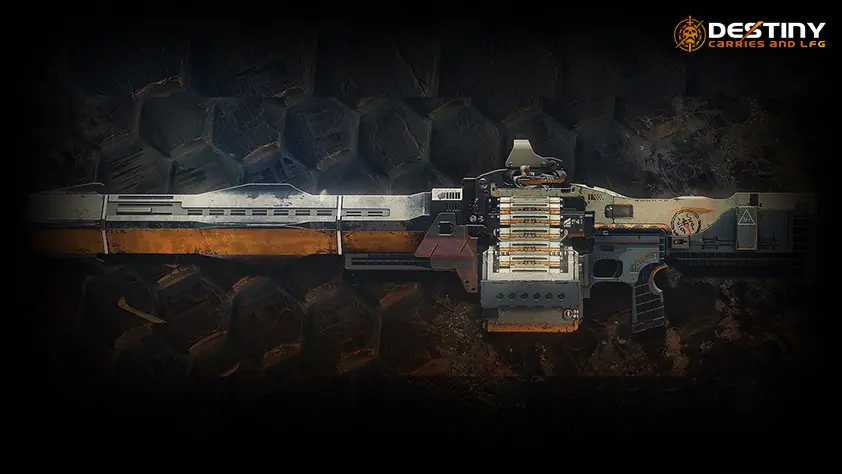 Xenophage Exotic Machine Gun