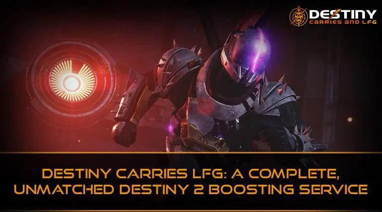 Destiny 2 Bosting Service