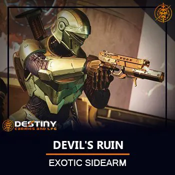 Devil's ruin Sidearm Product Card