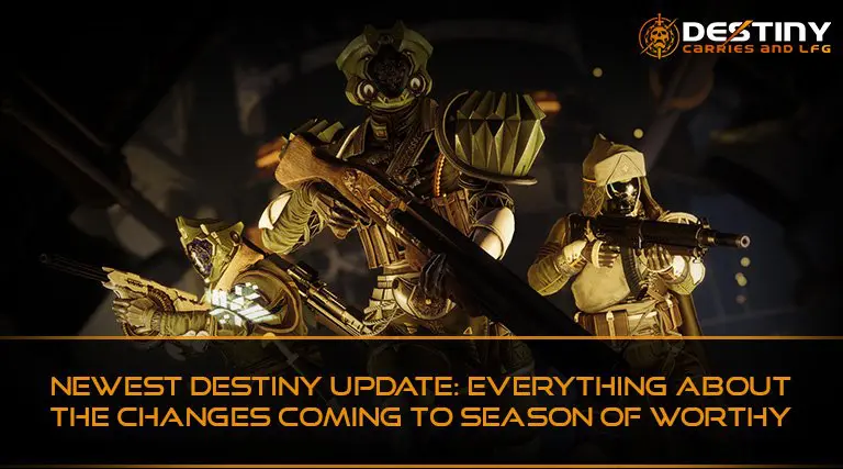 Newest Destiny Update Everything About the Changes Coming to Season of Worthy