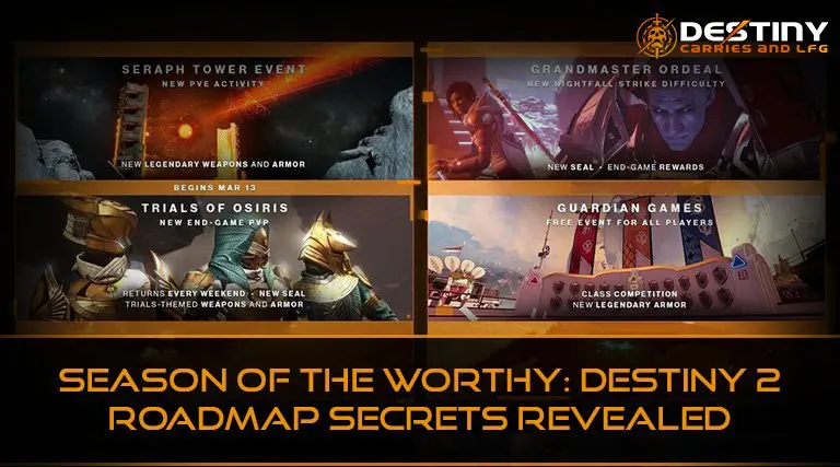 Season of the Worthy Destiny 2 Roadmap Secrets Revealed