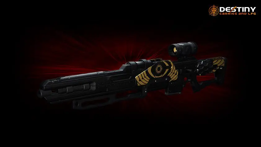 Trials of Osiris Eye of Sol Sniper Rifle