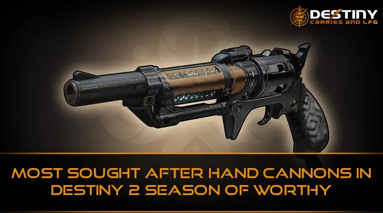Most Sought After Hand Cannons Spare Ration