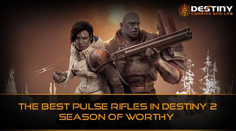 The Best Pulse Rifles in Destiny 2 Season of Worthy