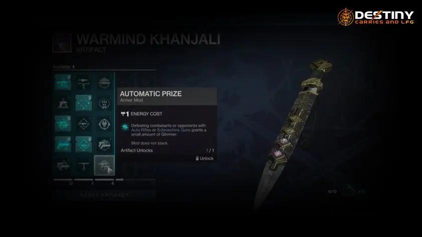 Warmind Khanjali Destiny 2