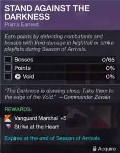 Stand Against the Darkness